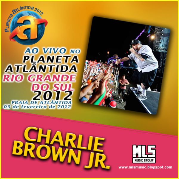 dvd charlie brown jr planeta atlantida 2012